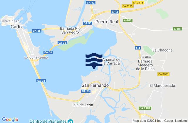 Tabla De Mareas De San Fernando Hoy Pleamar Y Bajamar Tabla De Mareas Para Pesca Provincia De Cádiz Andalusia Spain 2021 Tideschart Com